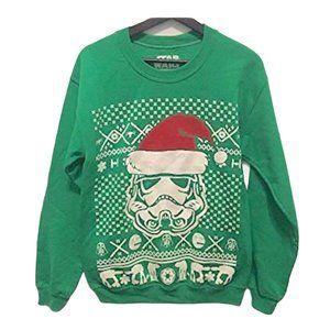 NWT Star Wars Storm Trooper Santa Sweatshirt